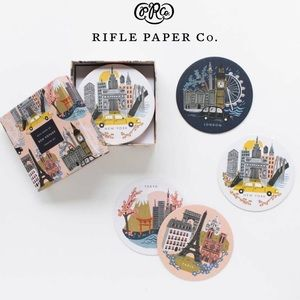 Rifle Paper Co Bon Voyage Coaster Set